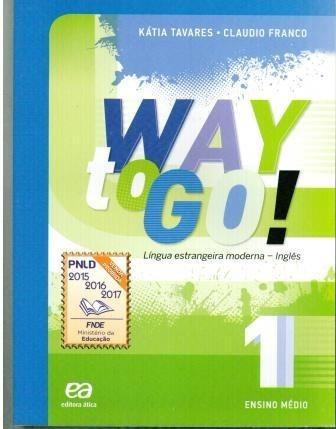 Livro Way To Go! (volume 1 Com Cd) Ensino Médio