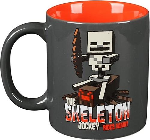 Taza Minecraft Skeleton Jockey