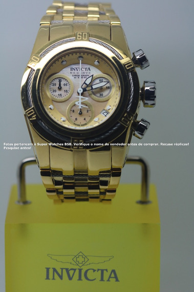 Invicta Bolt Zeus Feminino 15275 Original Plaque 18k Luxo