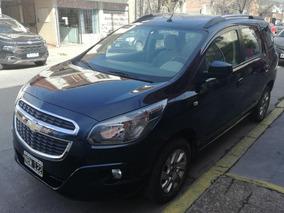 Chevrolet Spin 1.8 Ltz 5as 2013 Azul Oscuro