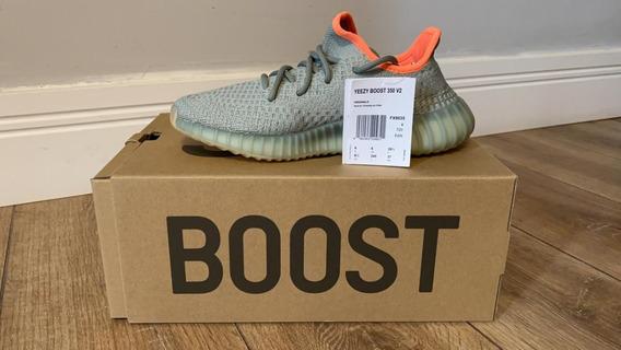 Tenis adidas Boost Yeezy 350 V2 Desert Sage - Kanye West