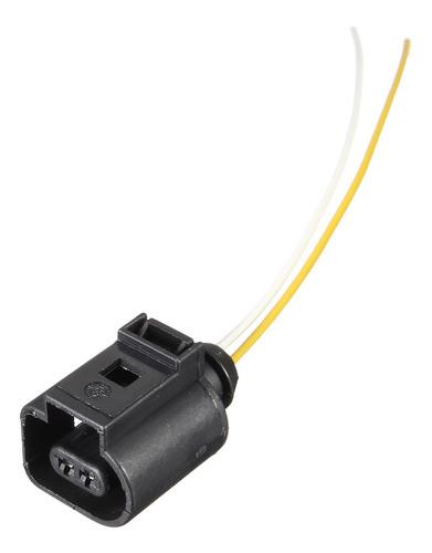 Conector De Cableado Eléctrico De 2 Pines Para Vw Audi #1j09