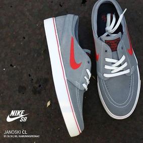 Tênis Nike Stefan Janoski 333824-065 Cinza Original