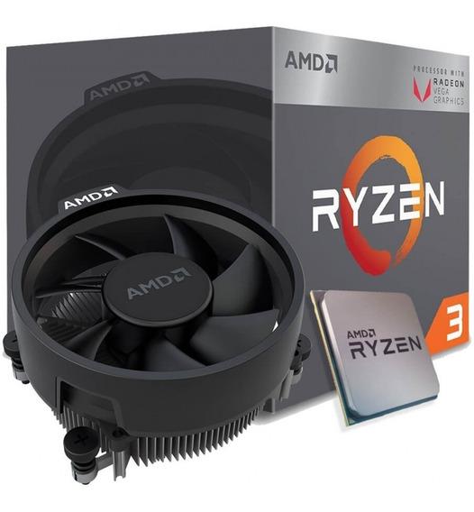 Processador Amd Ryzen 3 2200g 3.50g Am4 Vega8 Envio Imediato