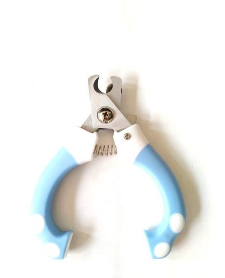 Alicate De Unhas Para Gatos Cães Pets Higiene Cortador Azul