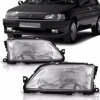 Farol Peugeot 306 1993 1994 1995 1996 Cromado 93 94 95 96
