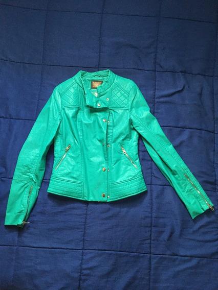 Jaqueta Em Courino Verde