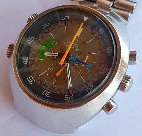 Relogio Omega Cronografo Flightmaster Vintage 1a Vers.1969