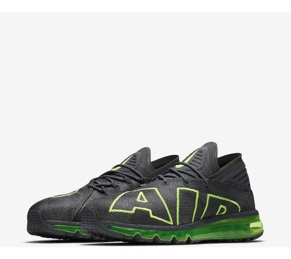Tênis Nike Air Max Flair Cinza Verde Masculino