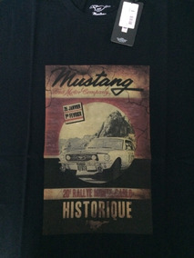 Camiseta Ford Mustang Rally Original Ford*