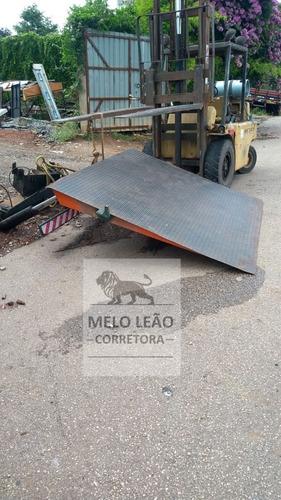 Plataforma Traseira Para Baú, Suporta 2.200kg