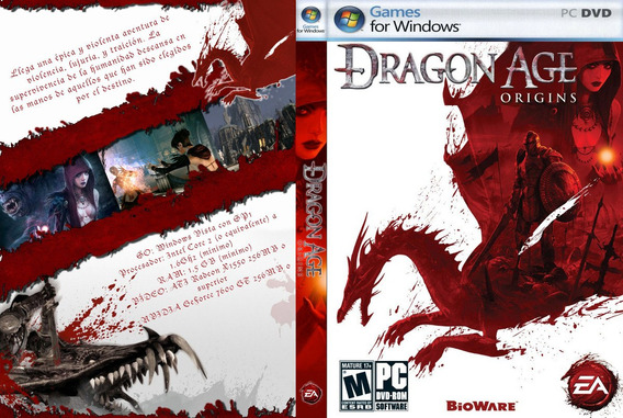 Dragon Age Origins (pc (mídia Física)