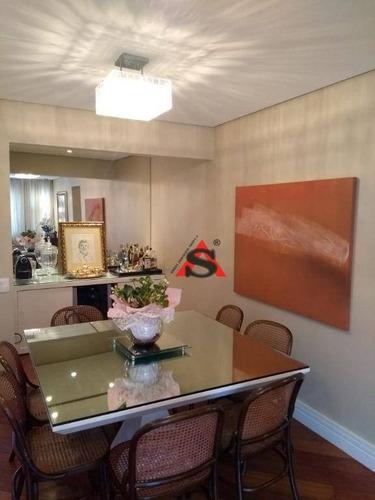 Apartamento Com 3 Dormitórios À Venda, 102 M² Por R$ 1.200.000,00 - Moema - São Paulo/sp - Ap39929