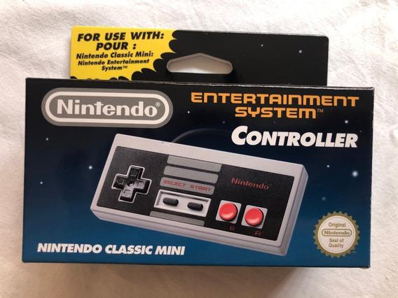 Controle Original Nintendo Para Nes Classic Mini Lacrado Nes