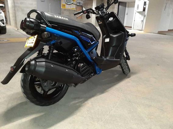 Yamaha Bws X 125- Negra-azul