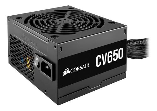 Fuente  650w Certificada 80 Plus Bronze Cv Series Cv650: