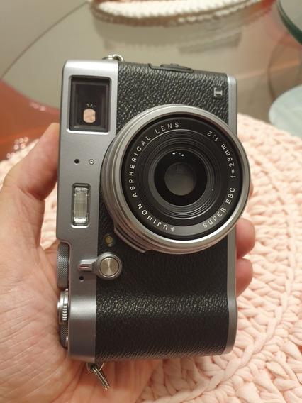 Fuji X100t (não É X100s Nem X100f). Detalhe No Lcd.