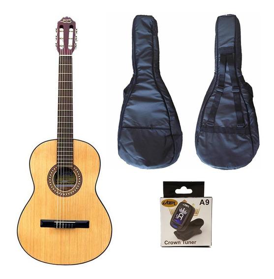 Guitarra Criolla Gracia M7 + Funda + Afinador Cuotas