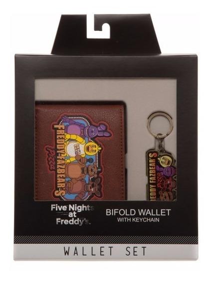 Cartera Y Llavero Five Nights At Freddy