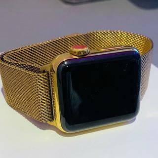 Gold Apple Watch Series 4