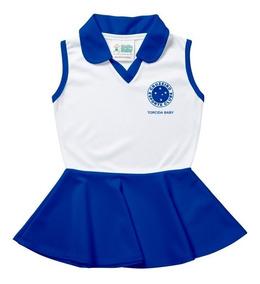Vestido Polo Infantil - Cruzeiro