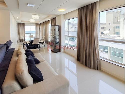 Ref.: 4137 - Apartamento Em Excelente Localização A Venda Mobiliado Com 4 Suítes Em Itapema - 1264