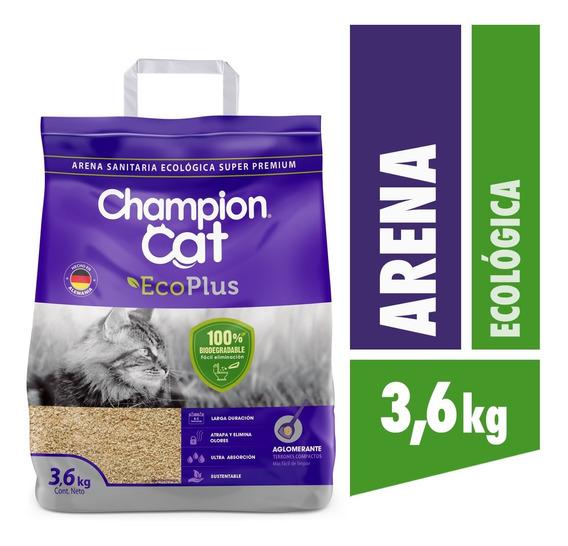 Arena Sanitaria Champion Cat Ecoplus Pack 4x3.6kg