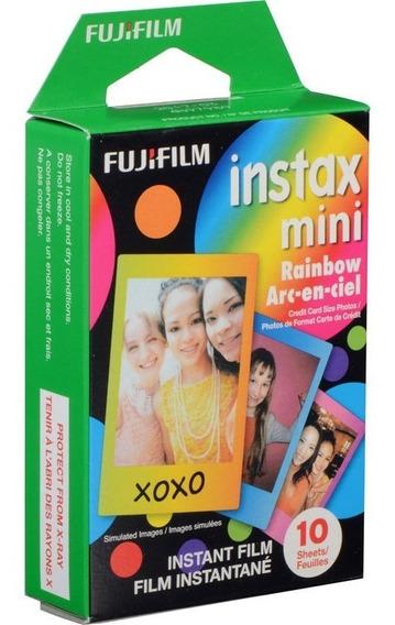 Filme Instantâneo Fujifilm Instax Mini Rainbow (10 Fotos)