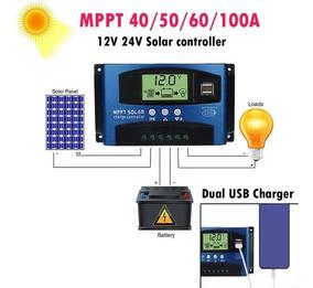Controlador De Carga Solar Mppt 60 60amp.pronta Entrega