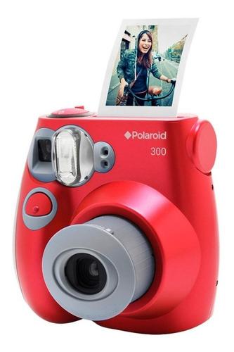 Camera Polaroid Pic 300r Vermelha