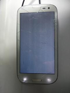 Celular Samsung S3 16gb Gt-i9300 Defeito Touch Tela Branca