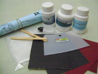 Kit Reparo Epoxi (conserte Voce Mesmo Sua Prancha De Surf)
