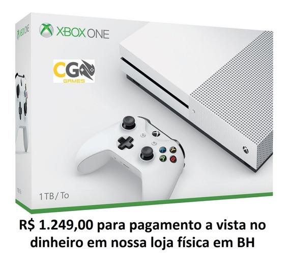 Xbox One S 1tb Novo Lacrado Na Caixa Com Garantia