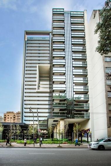 Studio 38m² - Downtown República (setin) - Pronto Pra Morar!