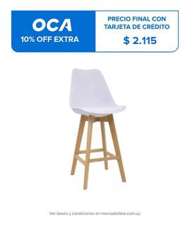 Taburete Eames Acolchonado Premium Excelente Calidad Oferta