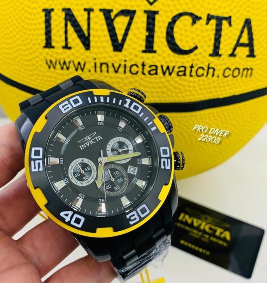 Relógio Invicta Pro Diver 22309 - Pulseira Preta