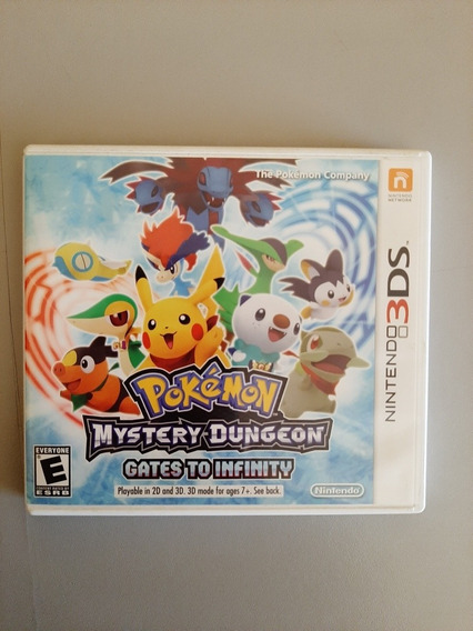 Jogo Pokemón Mystery Dungeon Gates To Infinity