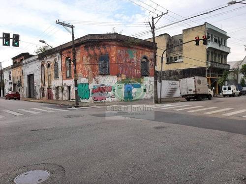 Terreno De Esquina Na Rua Luiza Macuco X Silva Jardins - Santos - Te0226