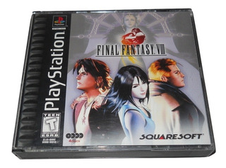 Final Fantasy Viii Playstation 1 Ps1 Squaresoft +++