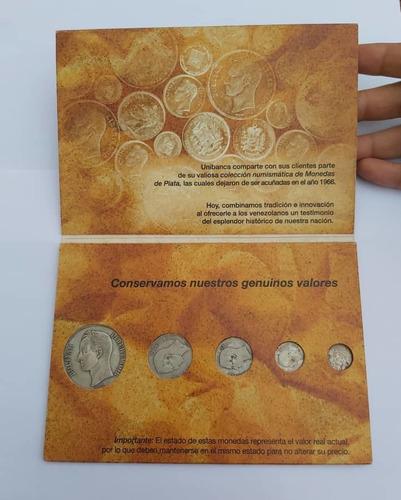 Imagen 1 de 2 de Colección Numismatica Monedas De Plata Venezolanas