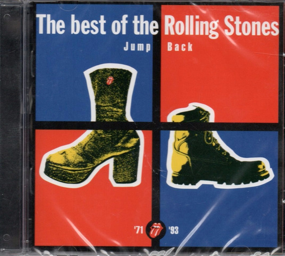 Cd Rolling Stones - The Best Of / Jump Back