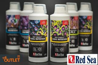 Paquete Red Sea Reef Energy A + B 500 Ml Aminoacidos