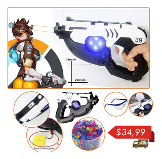 Juguete Tracer Overwatch Water Bullet