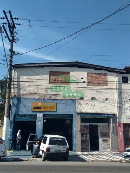 Ótimo Imóvel Com Dois Salões Comerciais Na Avenida Jaime Torres - Jd. Popular, Com Terreno De Aproximadamente 350 Mts2 E 250 De Construcao - 686