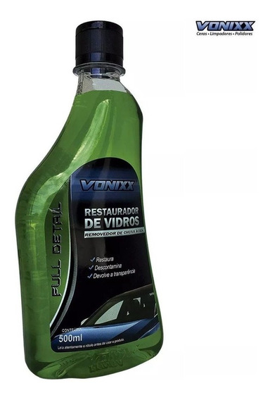 Restaurador De Vidros 500ml Vonixx Chuva Ácida Removedor Lim