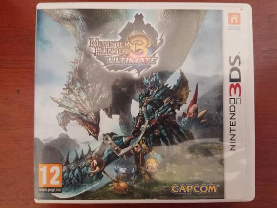 Monster Hunter 3 Ultimate 3ds (europeu)