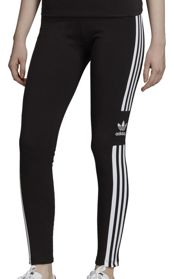 Calza adidas Originals Moda Trefoil Tight Mujer Ng/bl