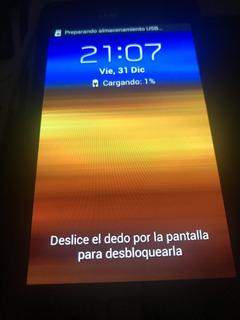 Celular Modelo Samsung S2 Gris Impecable Liberado Version3