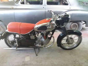Motocicleta Alemã Horex Regina 400cc 1954