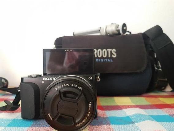 Câmera Sony 3n Mirrorless E Lente 16-50 Oss Liquidação